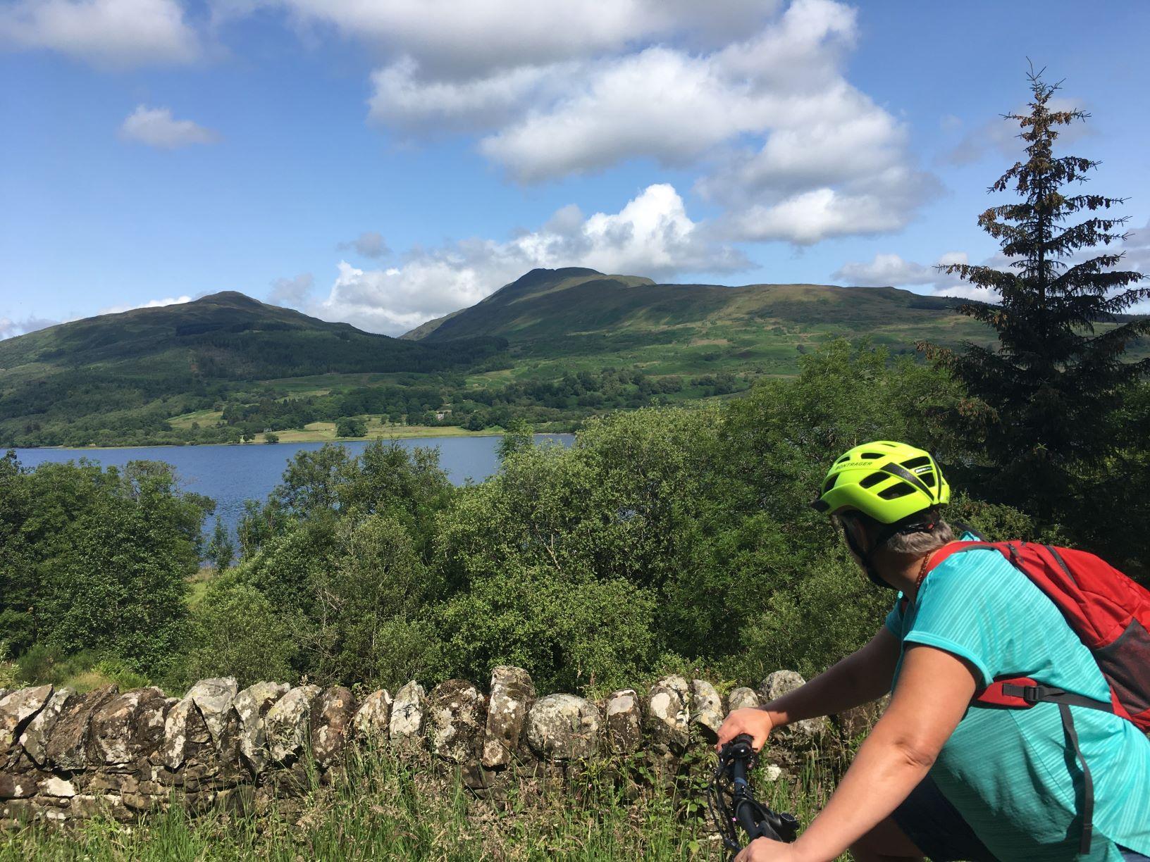 e biking tours of trossachs