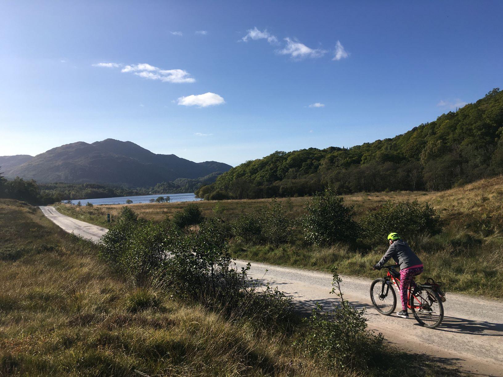 trossachs tours by electric bike